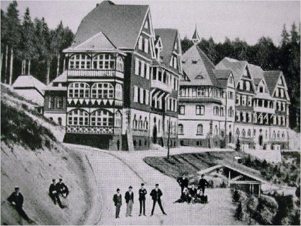 Pflegeheim C in 1907
