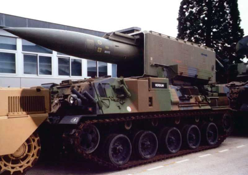 Pluton Missile (Source: Wikipedia)
